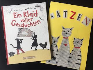 Bilderbuch Ein Kleid voller Geschichten Kunstanstifter Irene Berg Ingrid Mennen Rezension Kinderbuchblog Familienbücherei inkl. DIY für Zeitungsbild