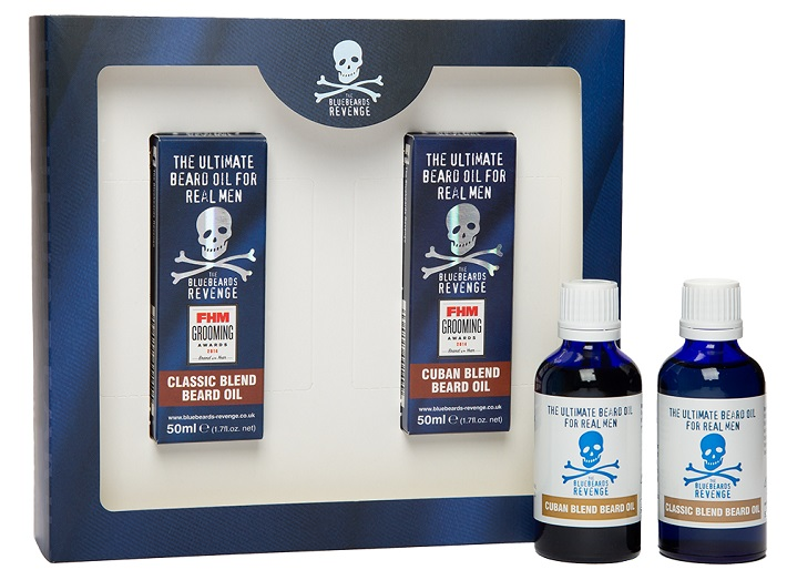 The Bluebeards Revenge Double Trouble Beard Oil Kit