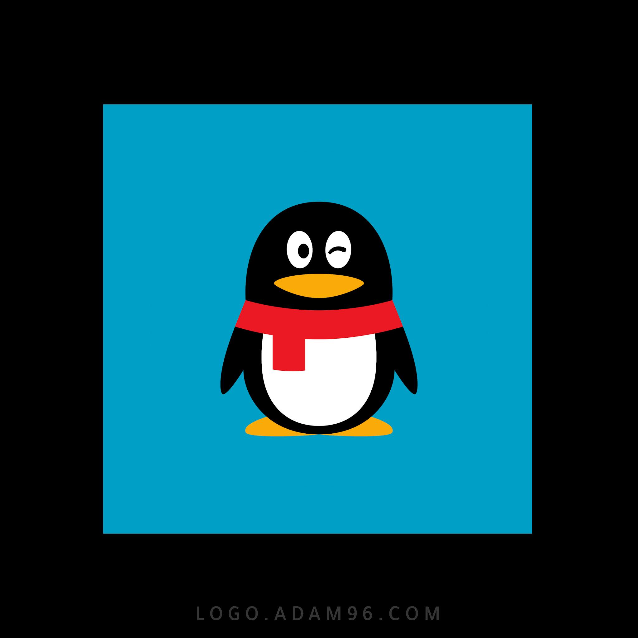 تحميل شعار تطبيق كيو كيو الرسمي لوجو مربع بصيغة شفافة Logo QQ PNG