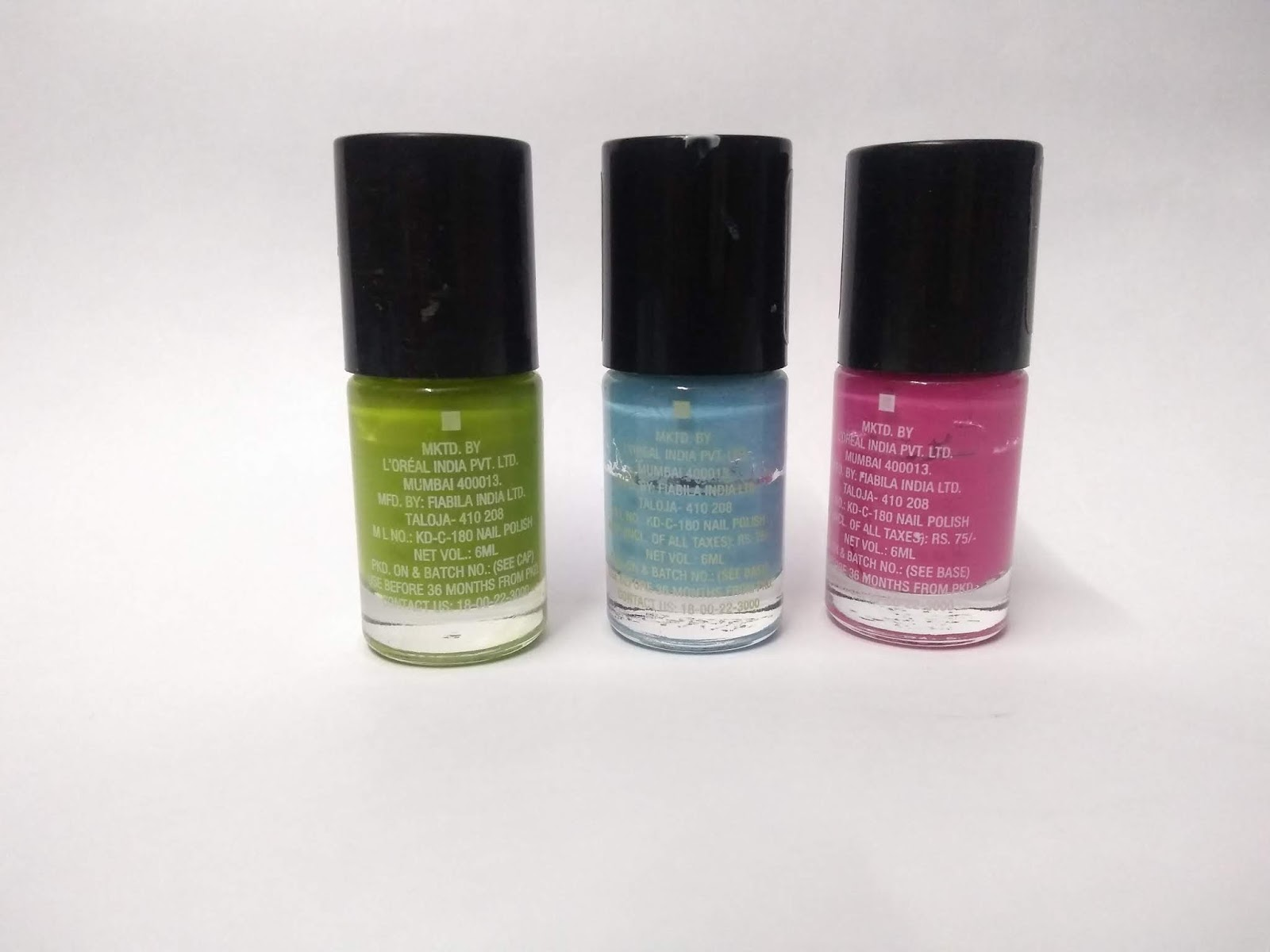 Maybelline Color Show Nail Polishes Review