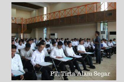 Terbaru Loker PT. Tirta Alam Segar Posisi OPERATOR PRODUKSI ( OP ) April 2018