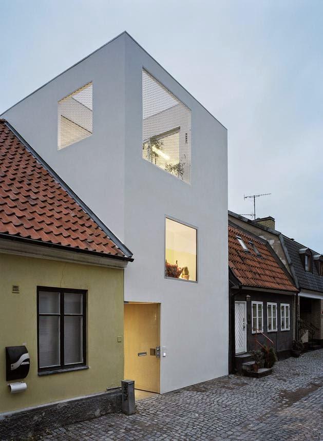Desain Rumah Kecil di Kawasan Padat Penduduk