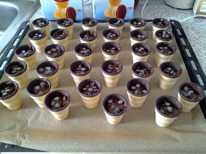 timmys basteleien muffins im waffelbecher