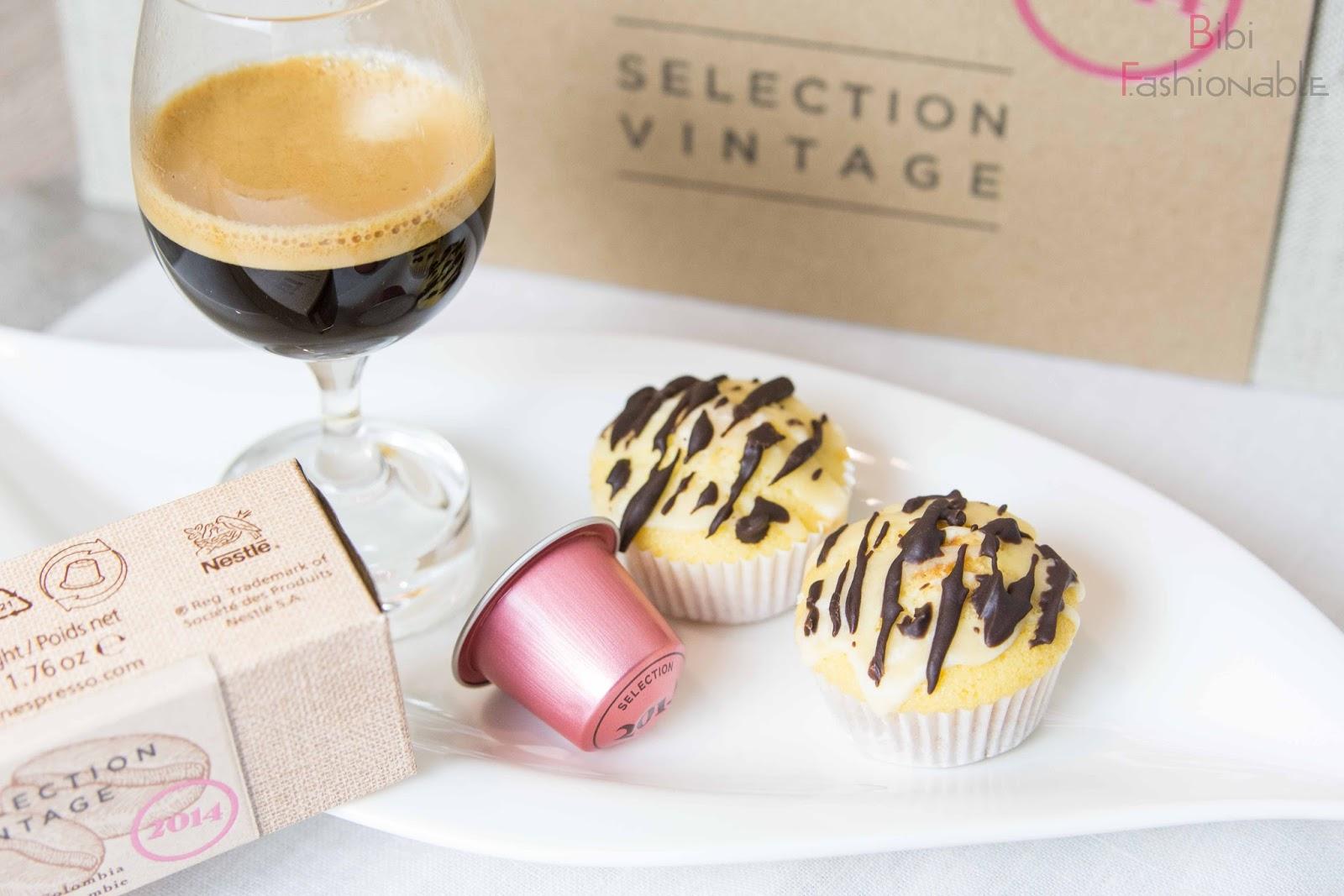 Selection Vintage 2014 Kaffee mini Eierlikör Muffins nah