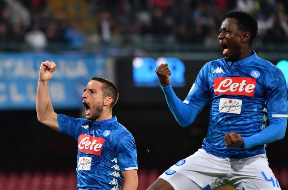 Manita Napoli sull'Empoli nell'anticipo di Serie A: risultato 5-1 con tripletta di Mertens.