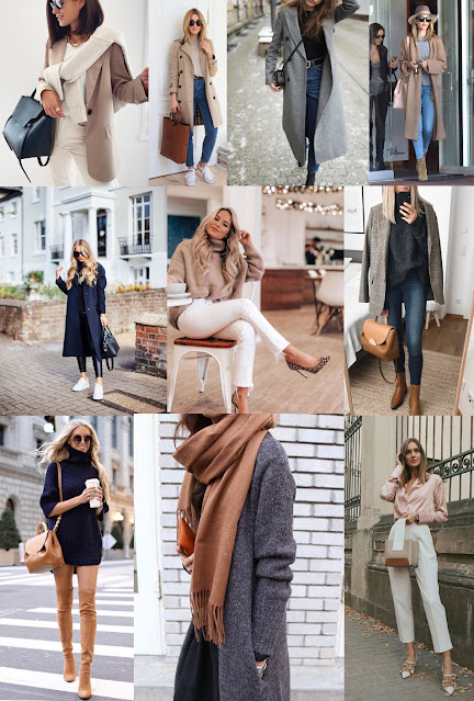 Fall Wardrobe Capsule Colour Inspiration