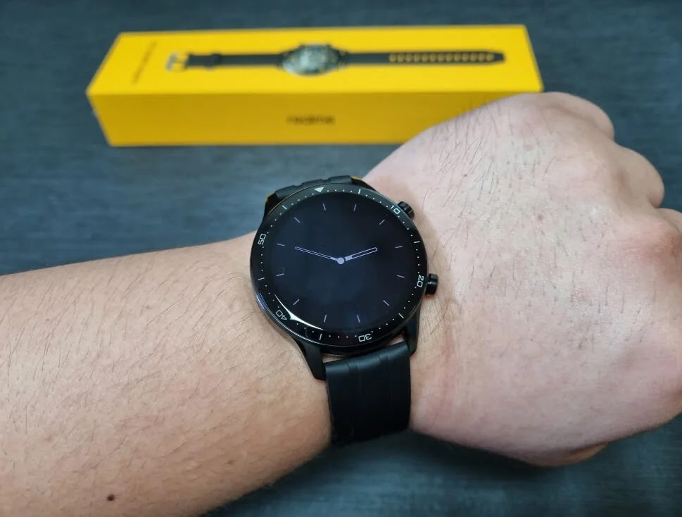 realme Watch S Pro Always-On Display
