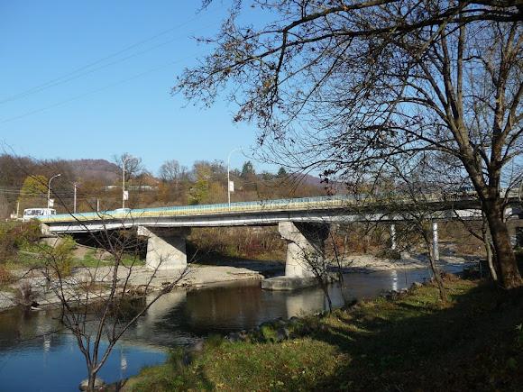 Свалява. Мост через Латорицу