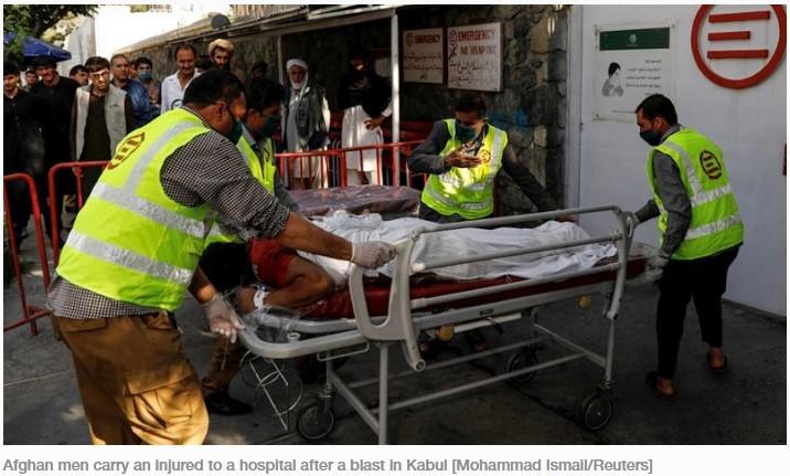 wapres afganistan lolos dari bom mematikan