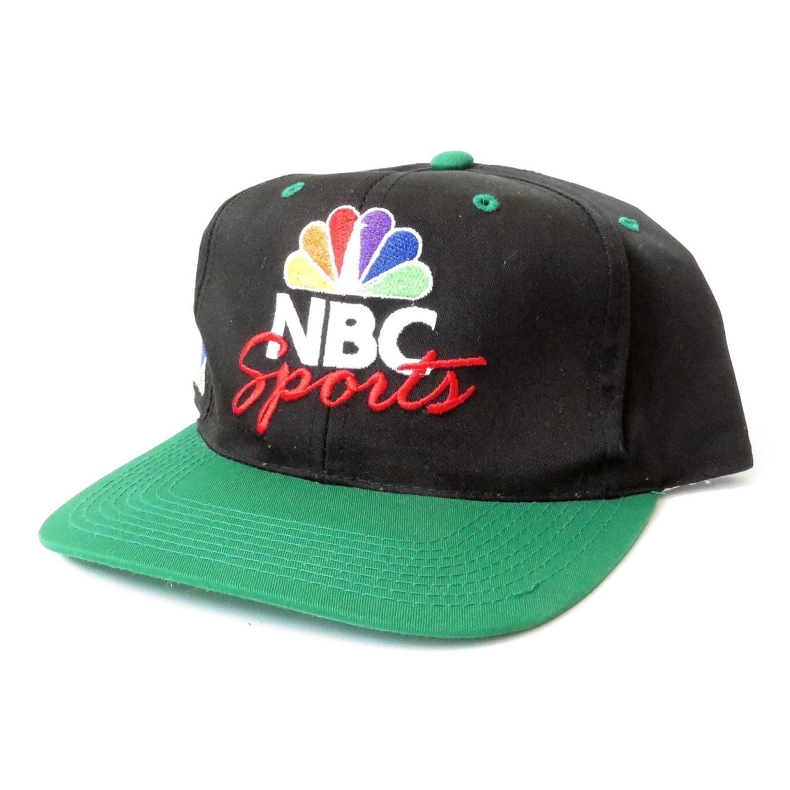 1de15d722cc VINTAGE NBC SPORTS NBA SNAPBACKS CAPS JORDAN
