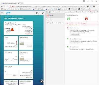 Enable TLS on HANA Web Dispatcher with OpenSSL certificates