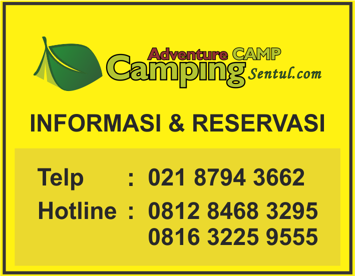 Kontak Marketing Camping Sentul