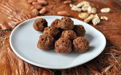 Marokkanische Schokoladenkuchen Pralinen, lowcarb