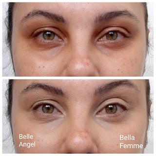 Qual o melhor corretivo Corretivo HD da Belle Angel ou Skin Cover da Bella Femme resenha dicas da tia antes e depois