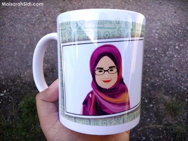 mug comel, WePrintGift