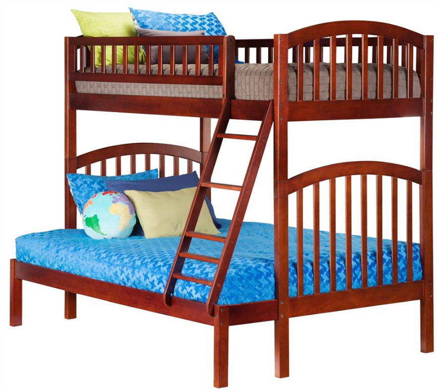 Eco-Friendly Twin Over Full Bunk Bed Atlantic Furniture
