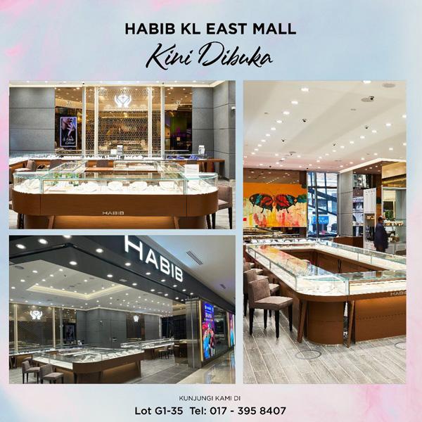 Perasmian Bilik Pameran HABIB Berkonsep Baru di KL East Mall bersempena Pelancaran Kempen Raya