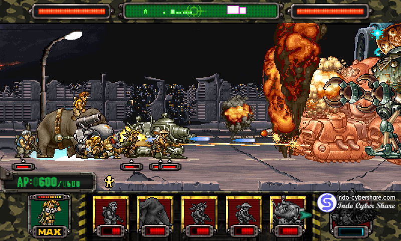 Game Metal Slug Attack Mod Apk For Android Unlimited AP