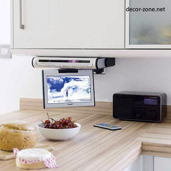 Under Cabinet Kitchen Smart Tv