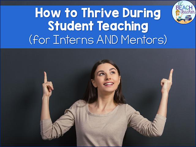 student teacher, mentor teacher