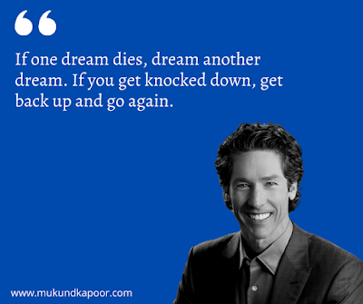 Joel Osteen Quotes on Dreams