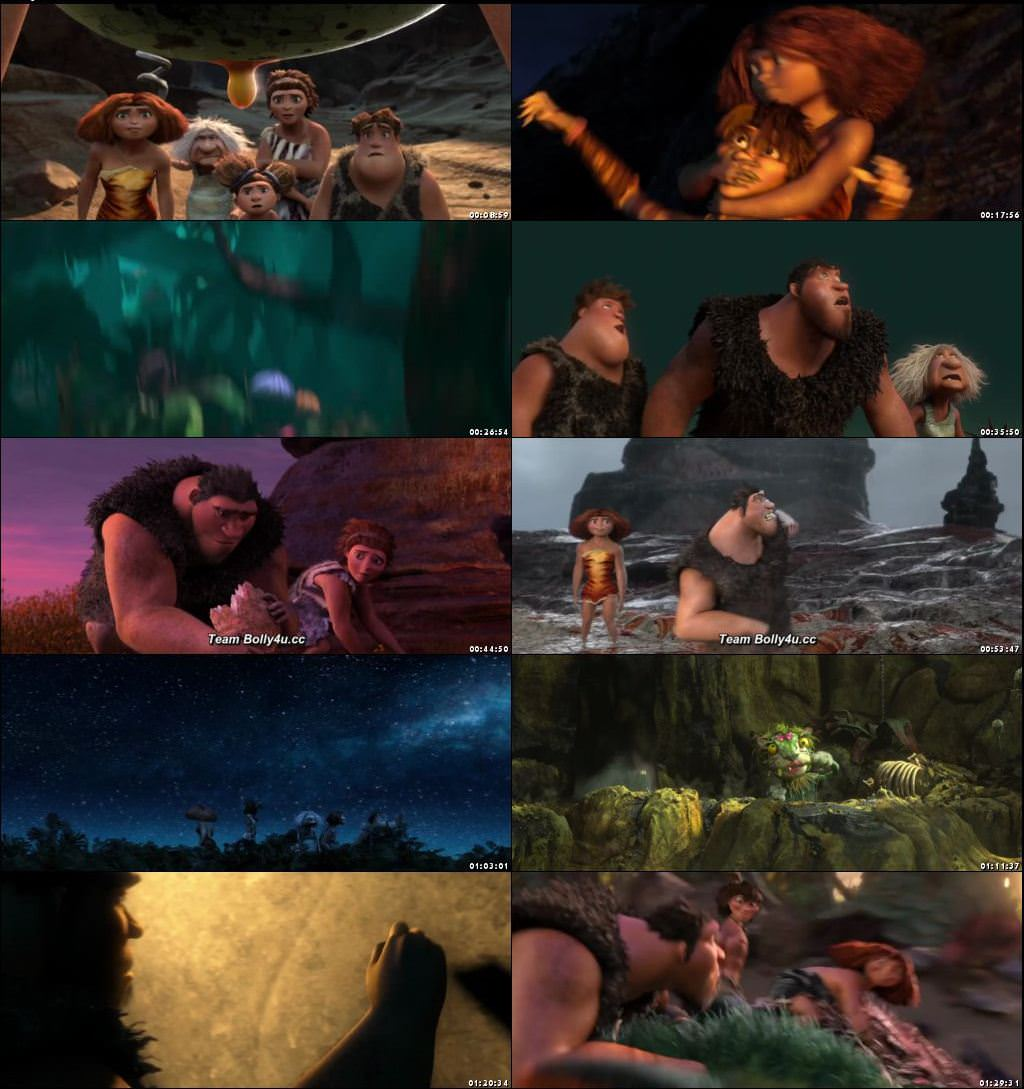 The Croods 2013 Dual Audio