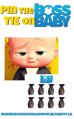 boss baby printable activity