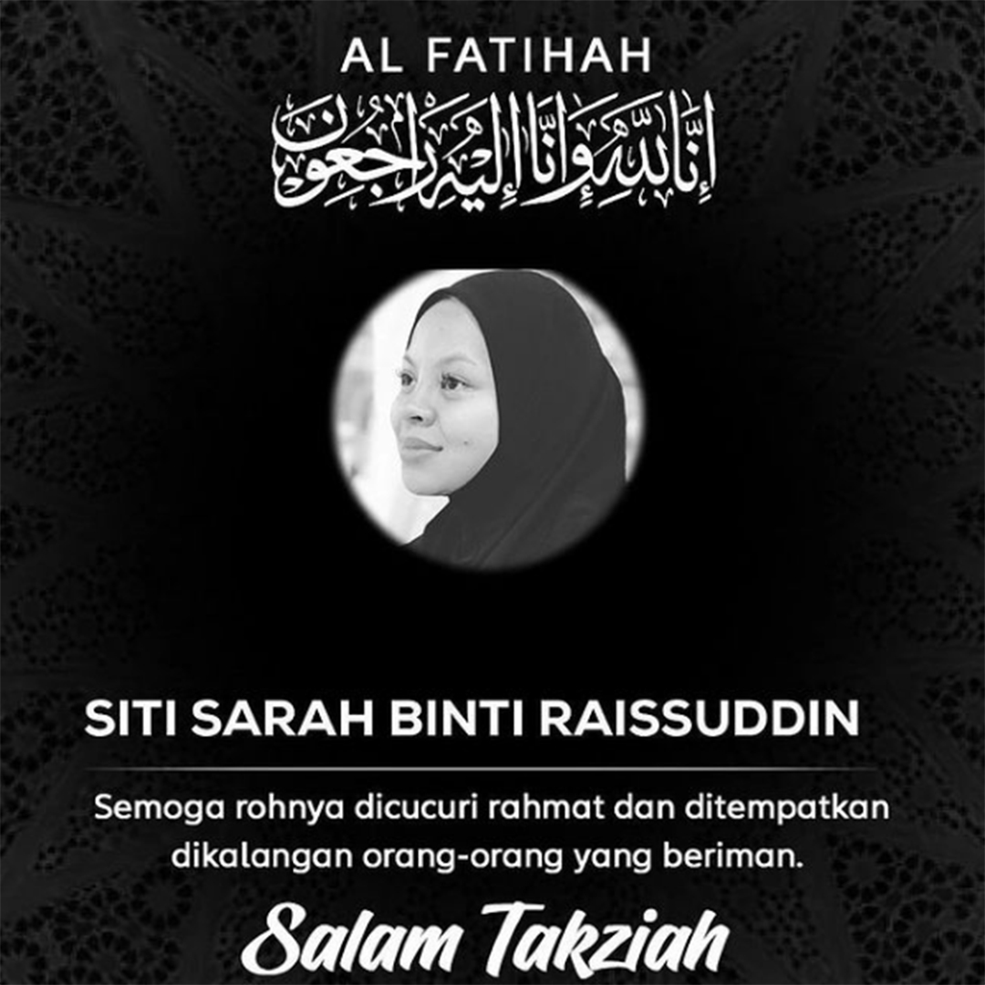 Siti Sarah Raissuddin