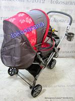 Kereta Bayi BabyDoes CH278 Parade-X Tongkat Dorong dari Depan atau Belakang 5