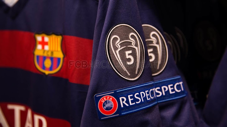 outlet store b8aae 0af0c FC Barcelona Kit to Feature New Badges as Five-Time Winners ...