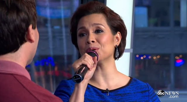 Brad Kane and Lea Salonga