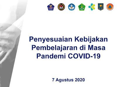 peraturan baru pjj agustus 2020