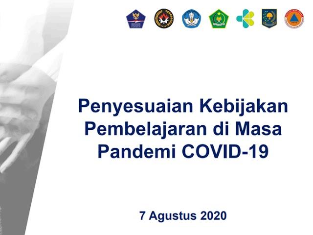 Penyesuaian Keputusan Bersama Empat Menteri tentang Panduan Pembelajaran di Masa Pandemi COVID-19