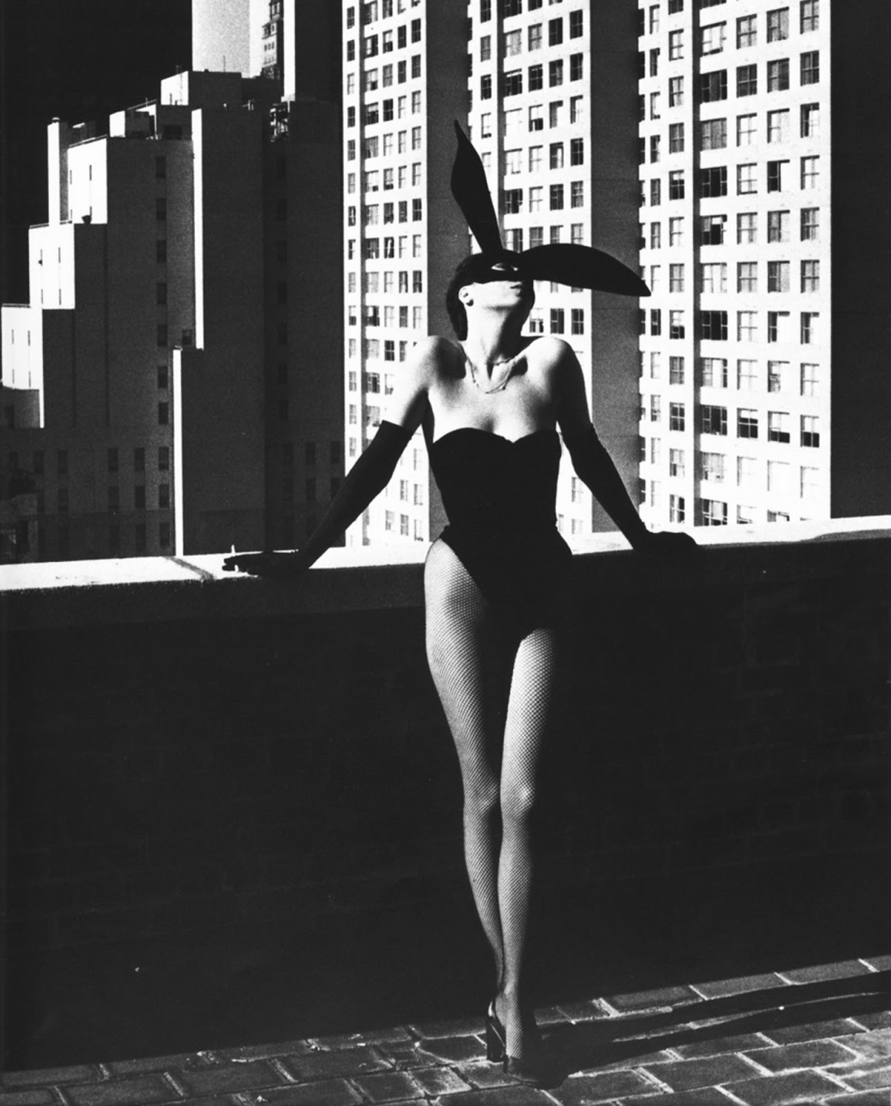 Helmut Newton, Elsa Peretti, New York, 1975 - chic Easter photograph