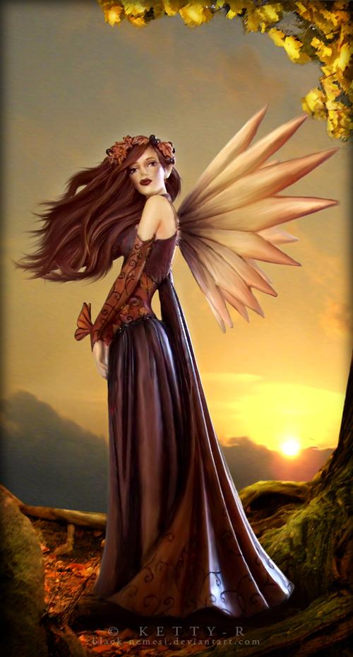 Autumn Graphics Picture Autumn Fairy