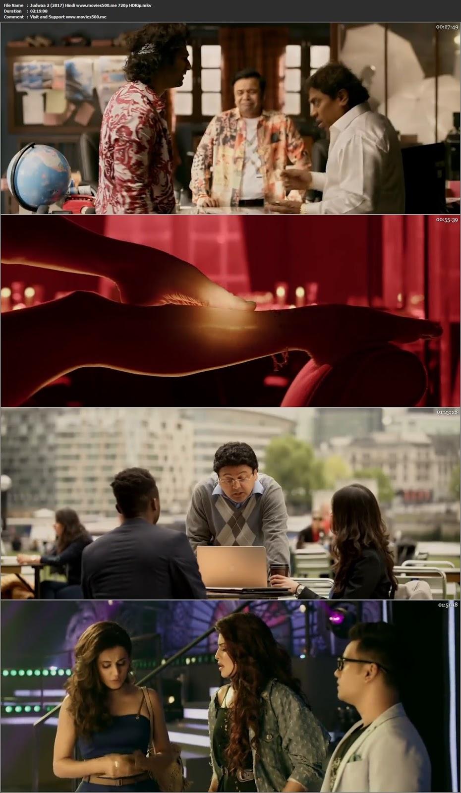 Judwaa 2 2017 Hindi Full Movie HDRip 720p 1GB at movies500.site