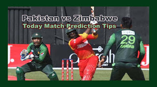 Pakistan vs Zimbabwe, 2nd ODI Match Prediction Tips Free