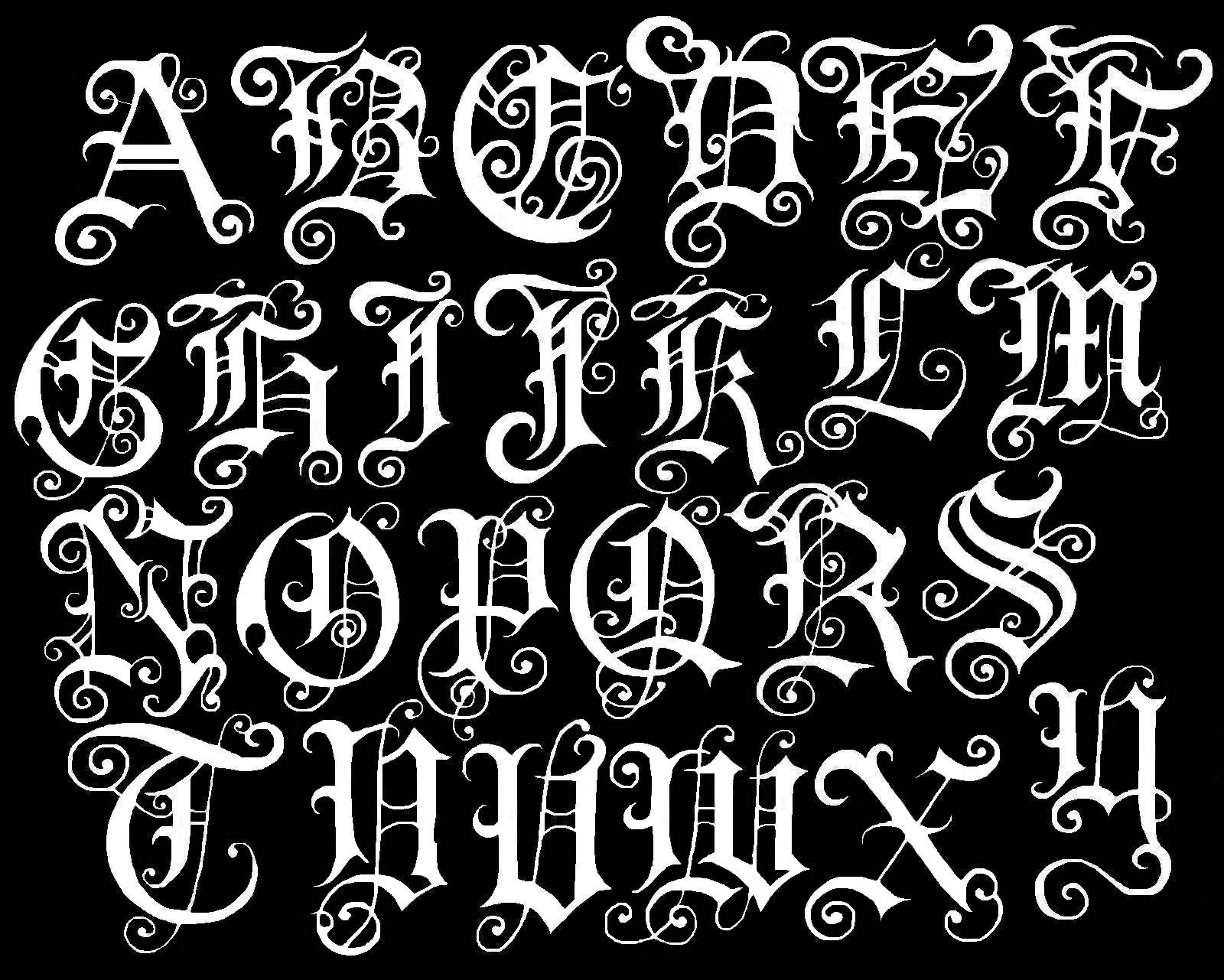 Old Calligraphy Font Free The Gallery For Gt Fancy Old English Fonts