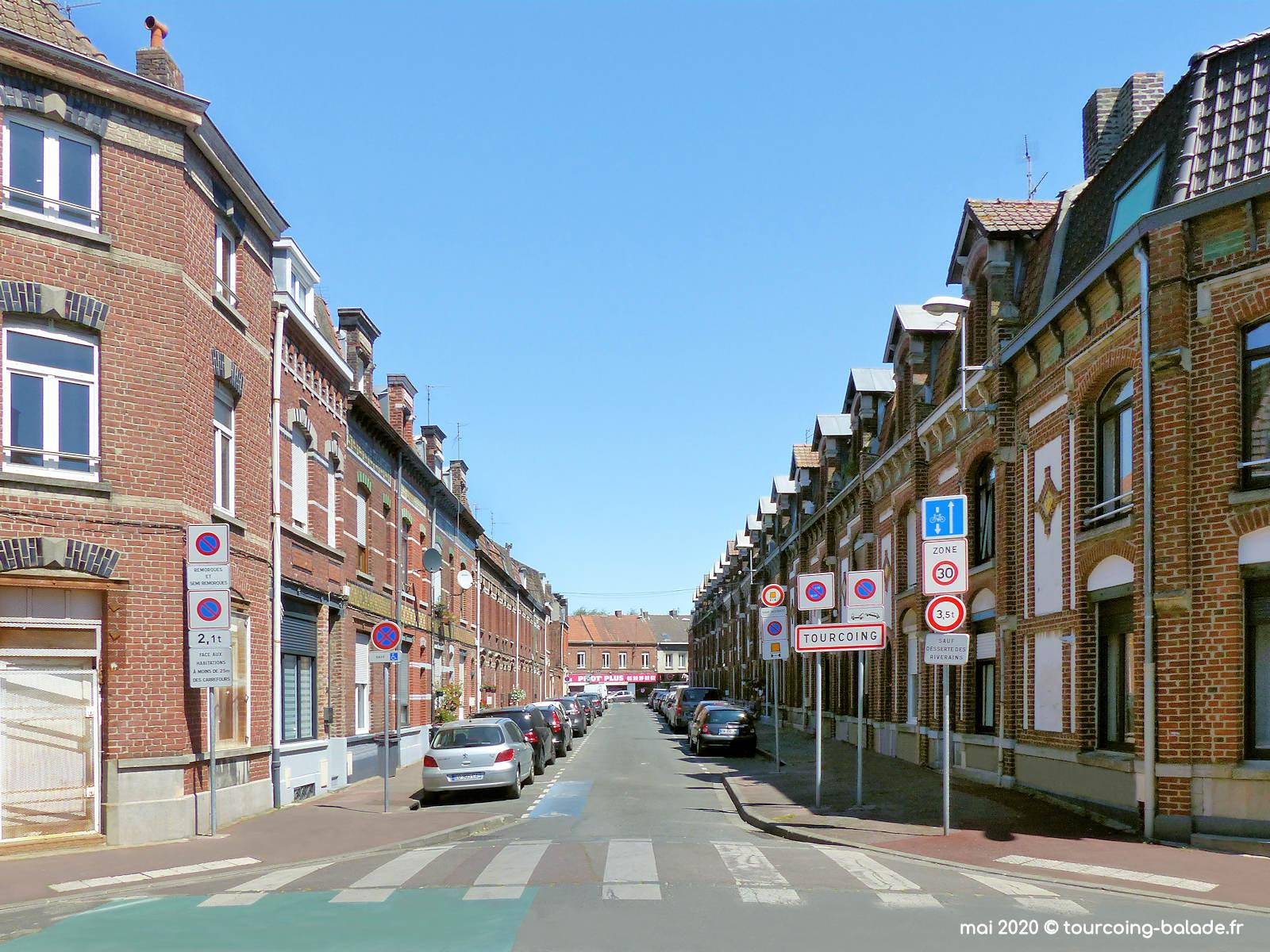 Rue de Mézières, Tourcoing 2020