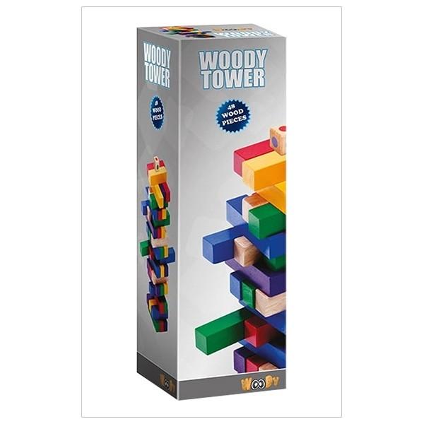 Trò Chơi Rút Thanh Woody Color Tower