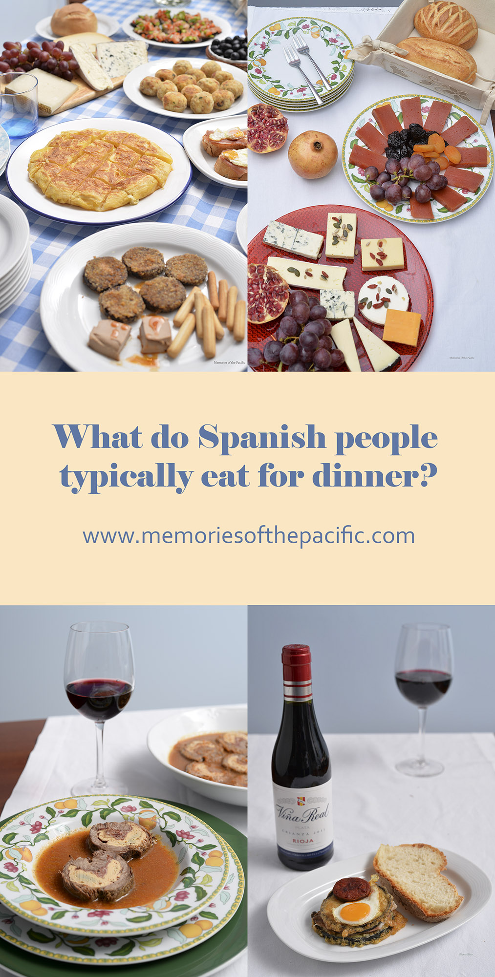 typical spanish dinner