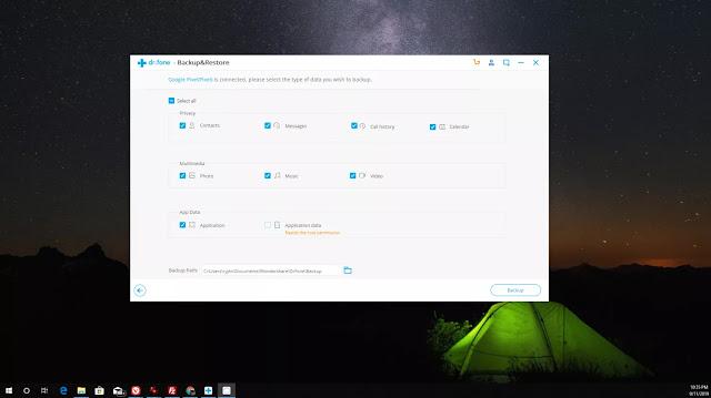 طريقة عمل نسخة احتياطية باك اب للاندرويد علي الكمبيوتر واسترجاعها