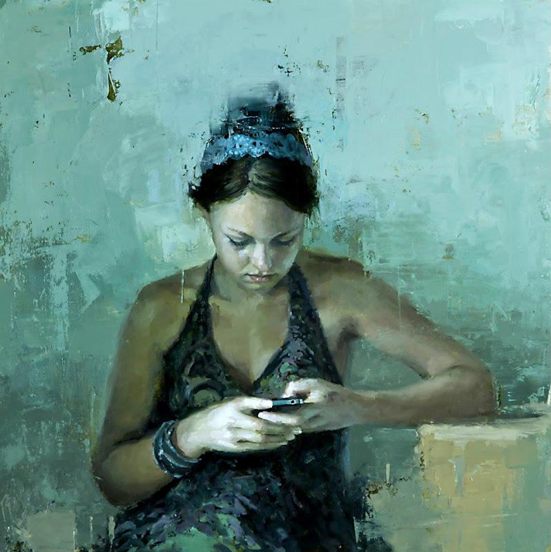 Jeremy Mann e suas pinturas ~ Pintor figurativo