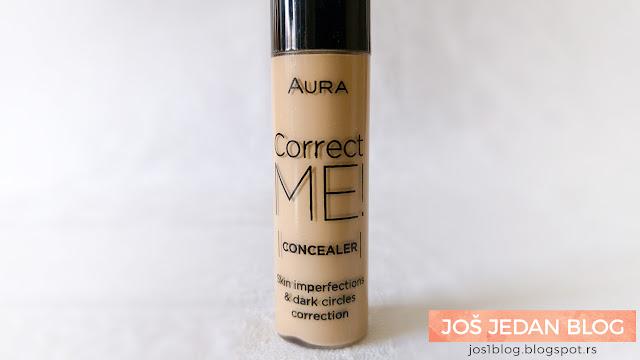 Aura Correct Me Concelaer korektor 302 Pastel Beige recenzija