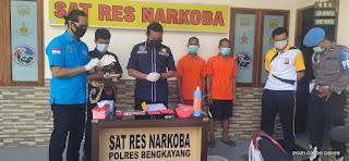 Sabu Seberat 5,51 Gram Dimusnahkan Satresnarkoba Polres Bengkayang