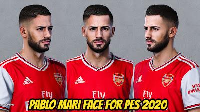 PES 2020 Faces Pablo Mari by Bolulu