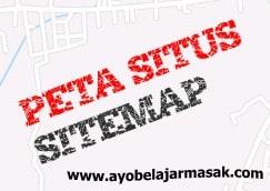 Peta Situs Ayo Belajar Masak