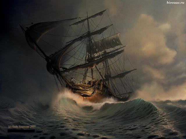 Гумилев цикл Капитаны стихи, Летучий Голландец стихи, Стихи Н. Гумилева, Лирика на Биваке,