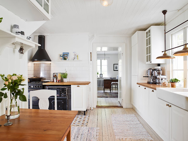 Black and white in the kitchen | Perfect Scandinavian Style House