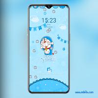 Tema Doraemon OPPO a83